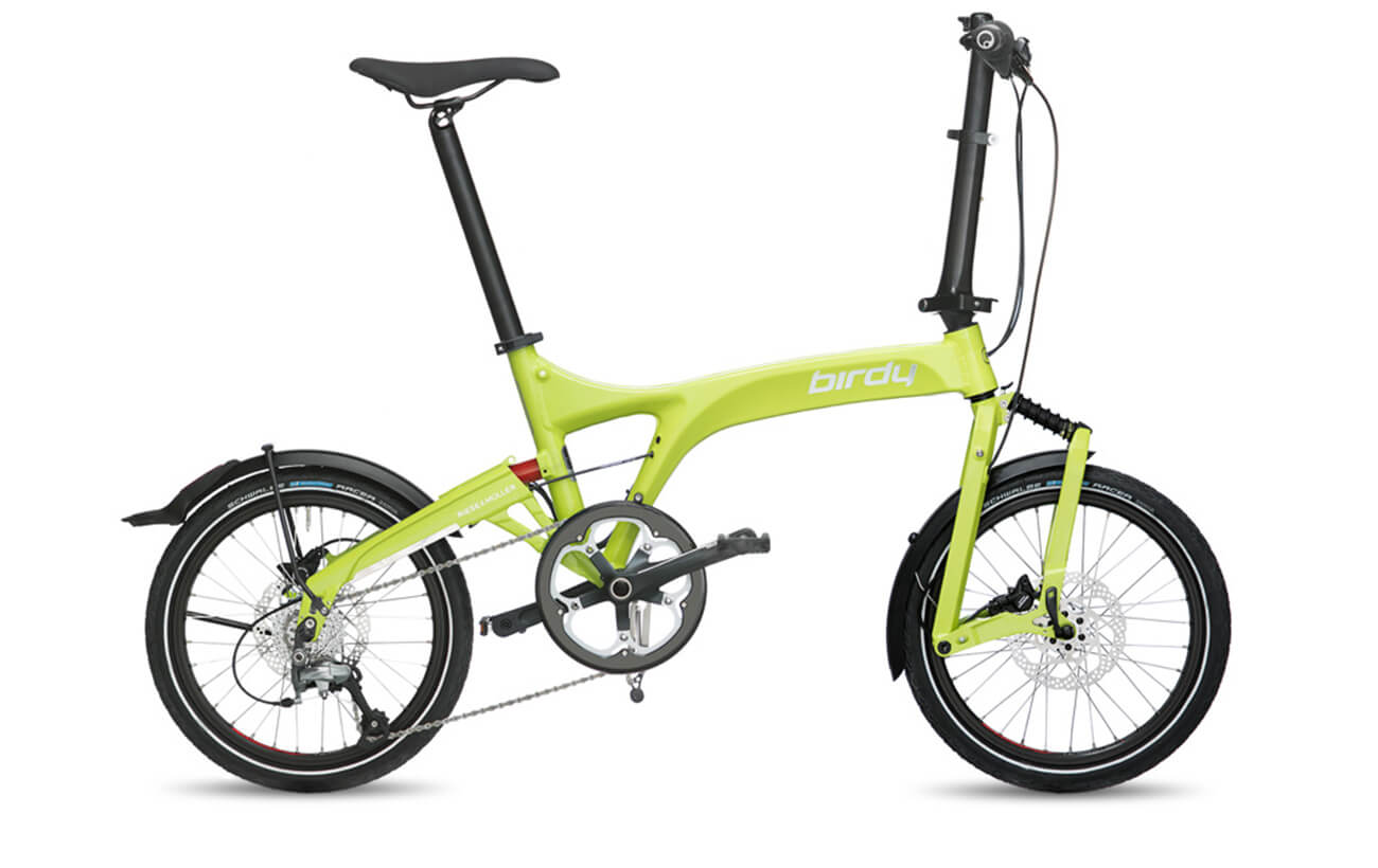 Riese & Muller Birdy Speed Lime folding bike