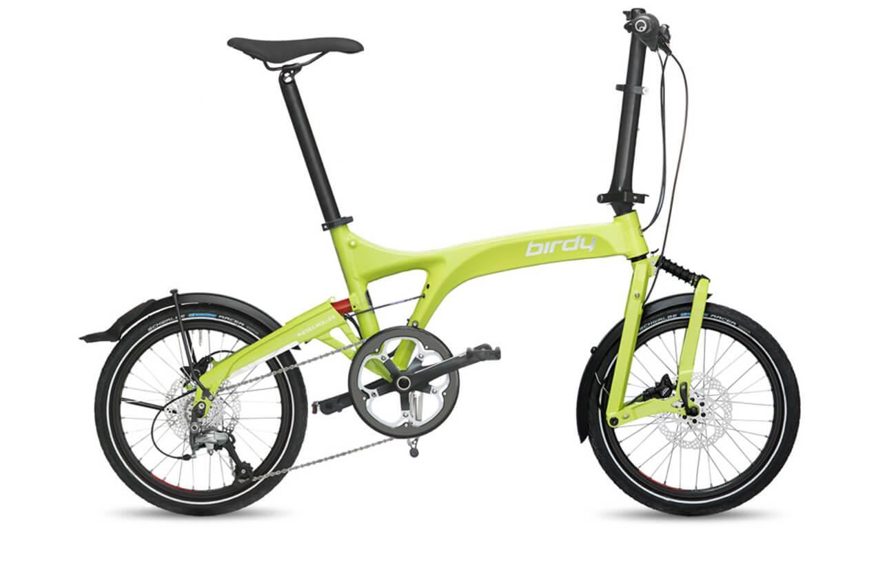 Riese & Muller Birdy Speed Lime folding bike