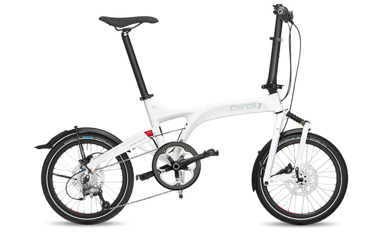 Riese & Muller Birdy Speed White folding bike