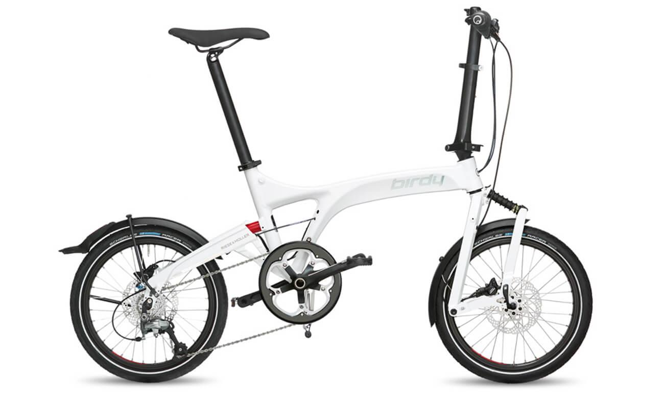 Riese & Muller Birdy Speed White folding bike