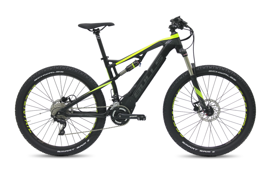 Bulls E-STREAM EVO FS 2 27.5 PLUS 2017 electric bike