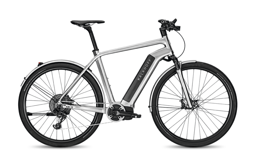 Kalkhoff Integrale LTD silver Electric Bike