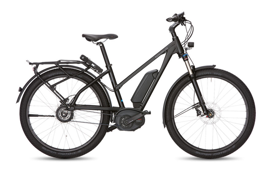 Riese & Muller Charger Mixte GH NuVinci Electric Bike Black