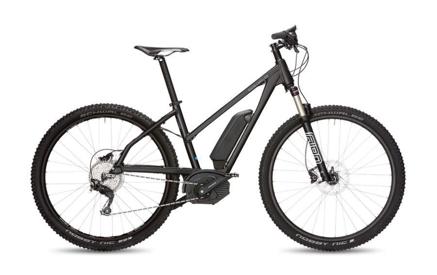 Riese & Muller Charger Mixte GT Touring Electric Bike Black