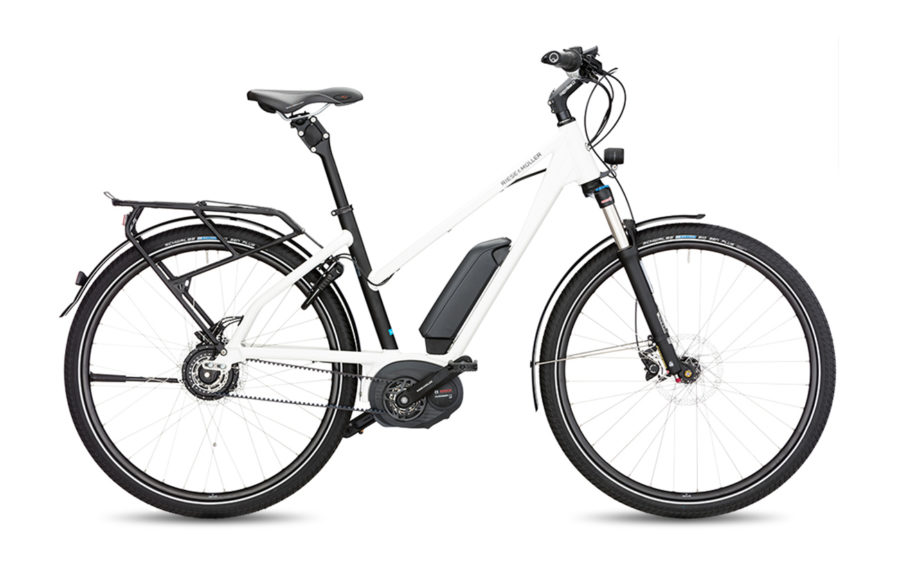 Riese & Muller Charger Mixte Nuvinci HS Electric Bike White