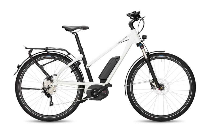 Riese & Muller Charger Mixte GT Touring Electric Bike White