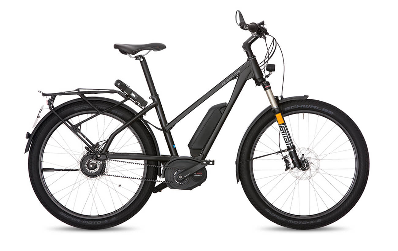 Riese & Muller Charger Mixte GT Touring HS Electric Bike White