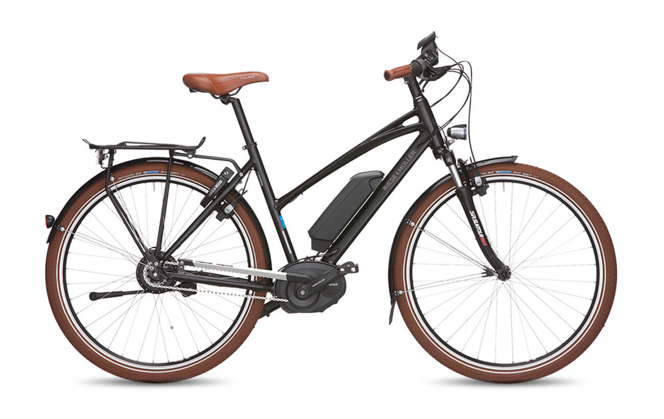 Riese & Muller Cruiser Mixte NuVinci Electric Bike Black