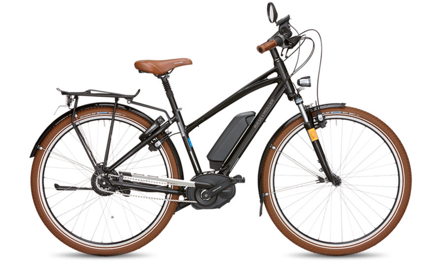 Riese & Muller Cruiser Mixte Nuvinci HS Electric Bike Black