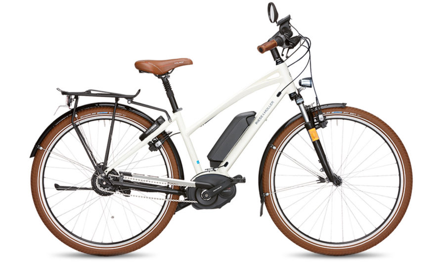 Riese & Muller Cruiser Mixte Nuvinci HS Electric Bike White