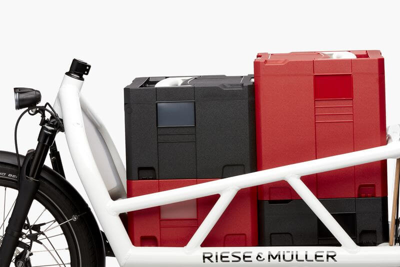 Riese & Muller Load stacking boxes
