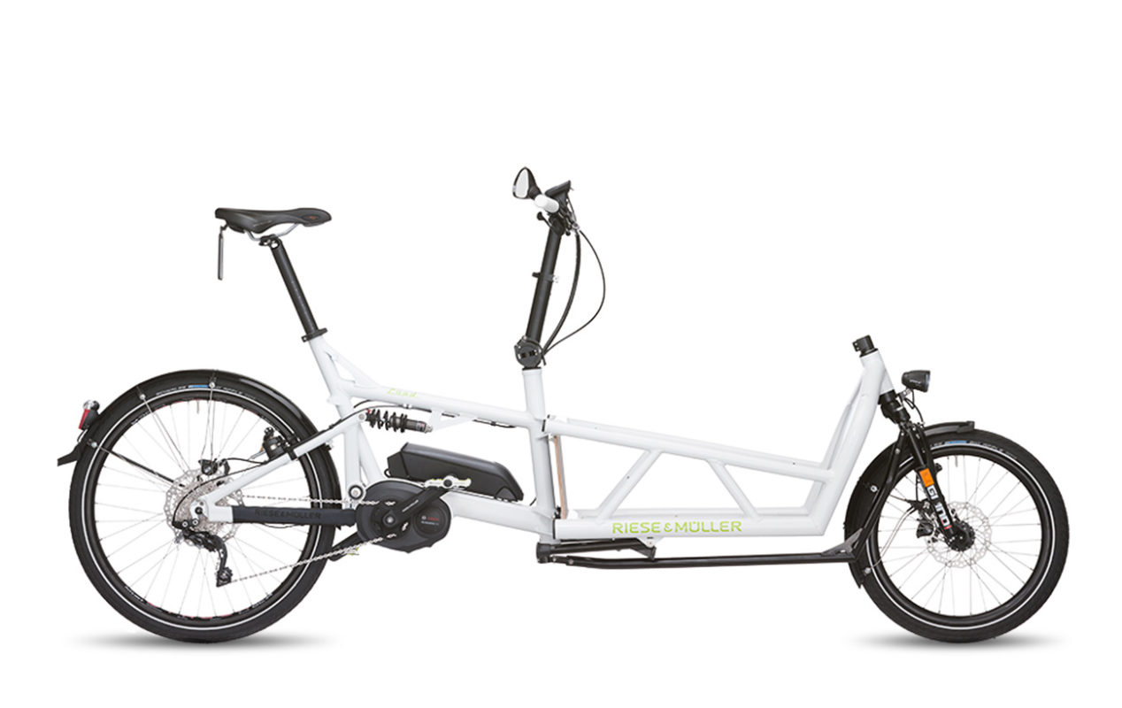 Riese & Muller Load touring HS white white
