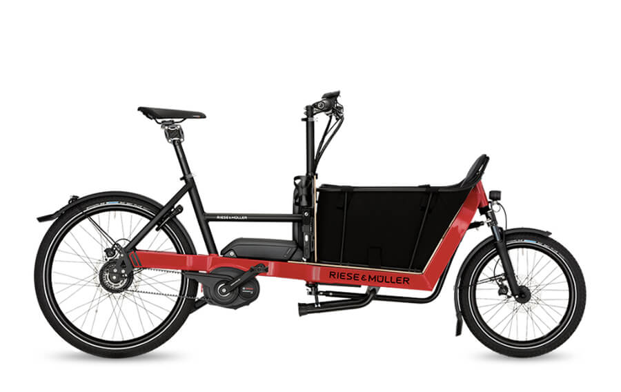 Riese & Muller Packster 40 Nuvinci HS Racing Red