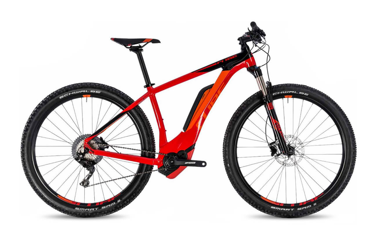 Cube Reaction Hybrid Race 500 2018 Red and Black
