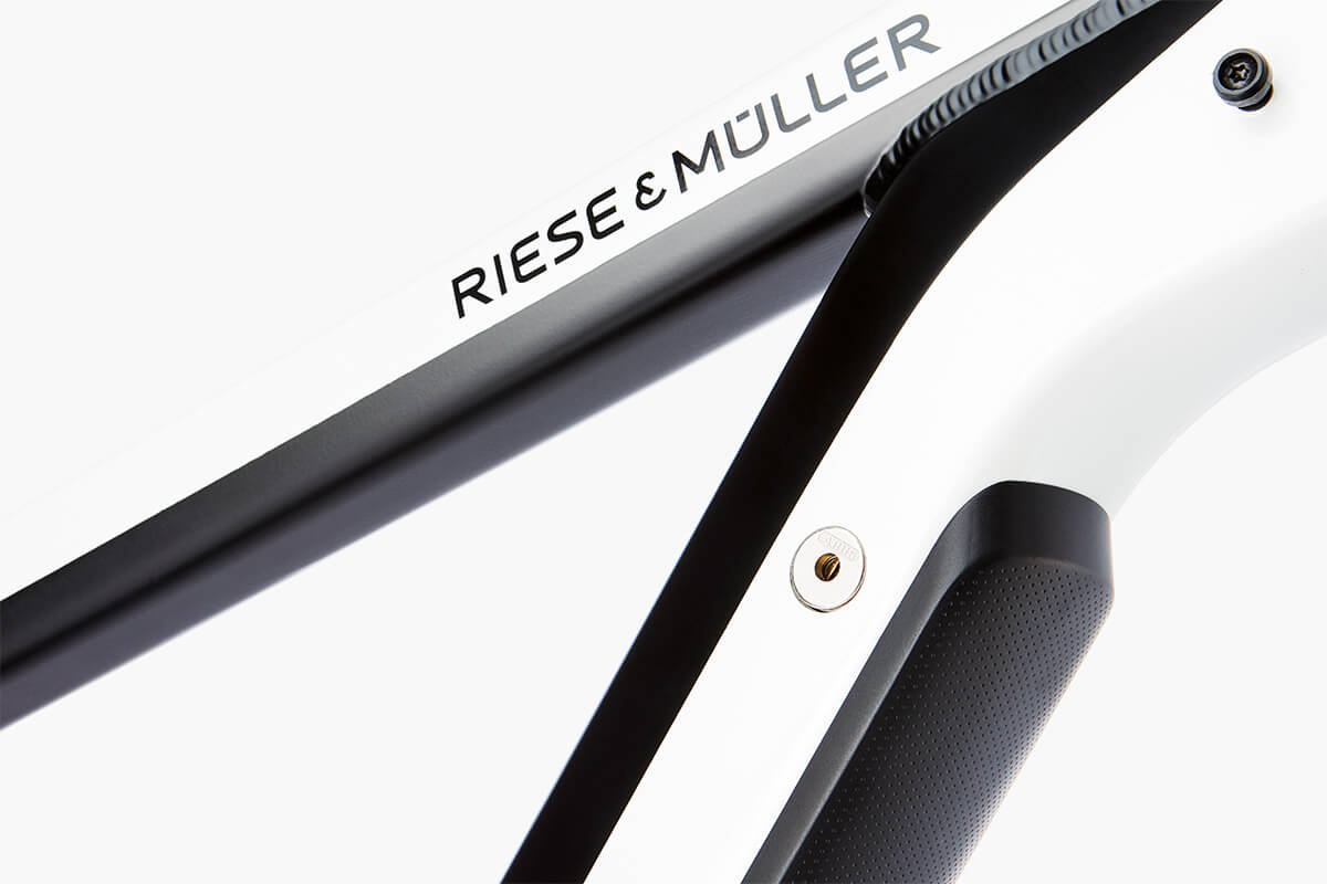 Riese & Mueller New Charger Built in Rechargeable Battery