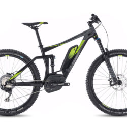 Cube Stereo Hybrid 140 Race 500 27.5 Black and Green