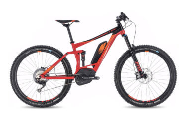 Cube Stereo Hybrid 140 Race 500 27.5 Red and Black