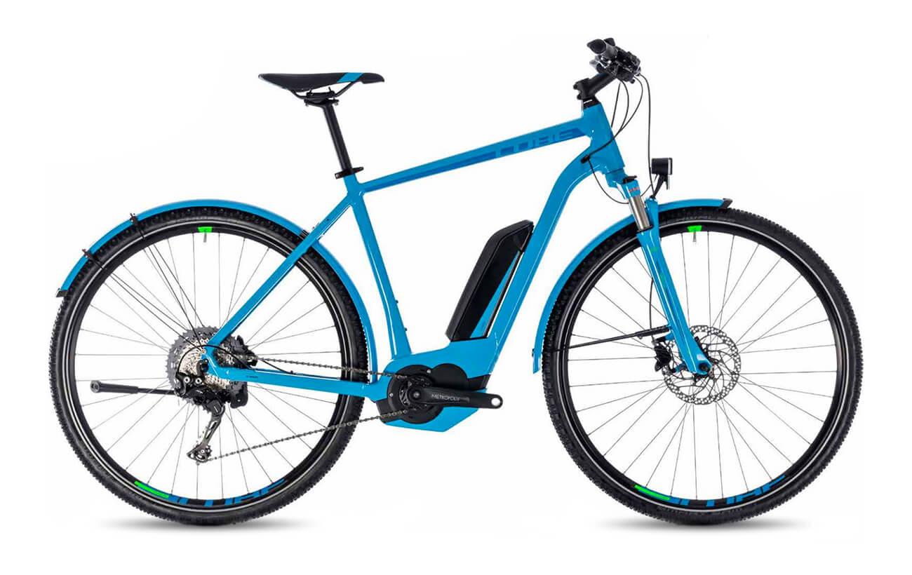 Cube Cross Hybrid Race allroad 500 standard Blue