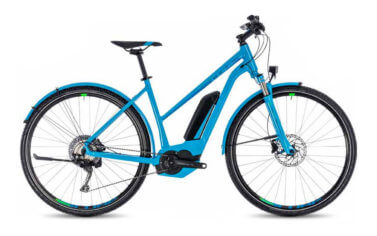 Cube Cross Hybrid Race allroad 500 trapeze Blue
