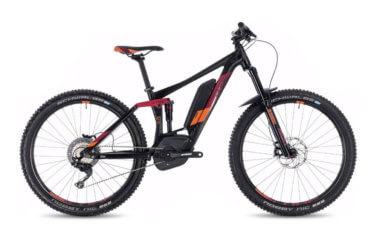 Cube sting hybrid 140 race 500 27.5 Black and Orange