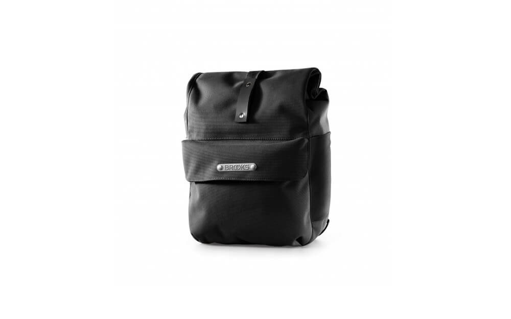 Brooks Norfolk Front Travel Panniers Black