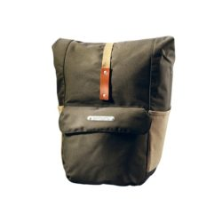Brooks Suffolk Rear Travel Panniers green