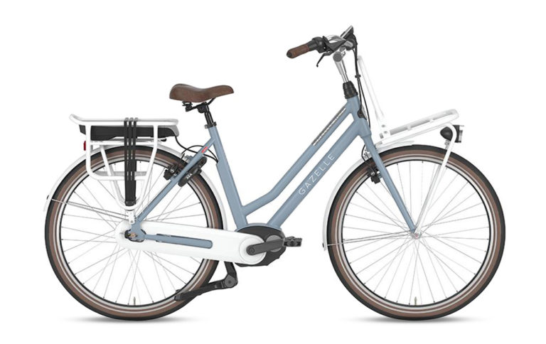 Gazelle NL C8 HMB Jeans Blue for sale - Propel Electric Bikes