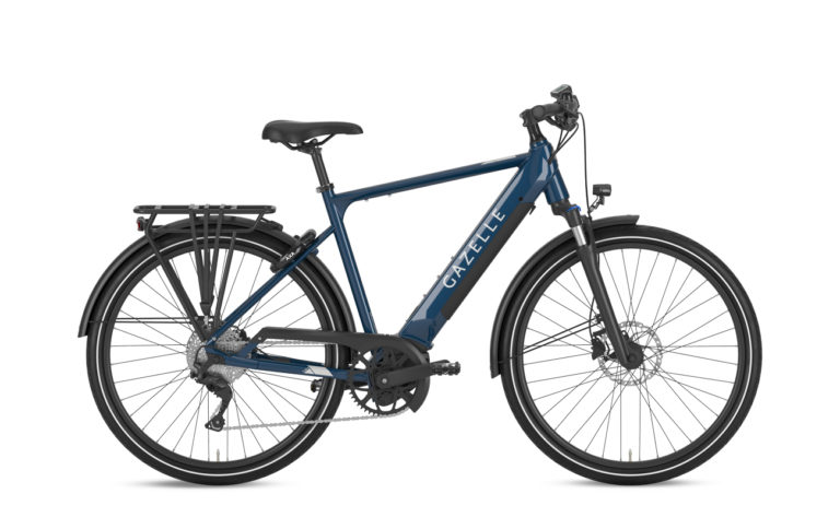 Buy Gazelle MEDEO T10 plus HMBUS Mallardblue - Propel E-Bikes