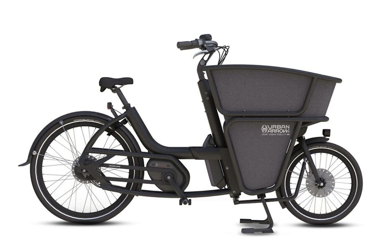 Urban Arrow Shorty Electric Bike Black