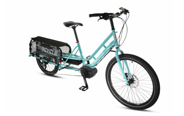 Xtracycle Edgerunner eSwoop Blue with Motor Large for sale - Propel Electric Bikes