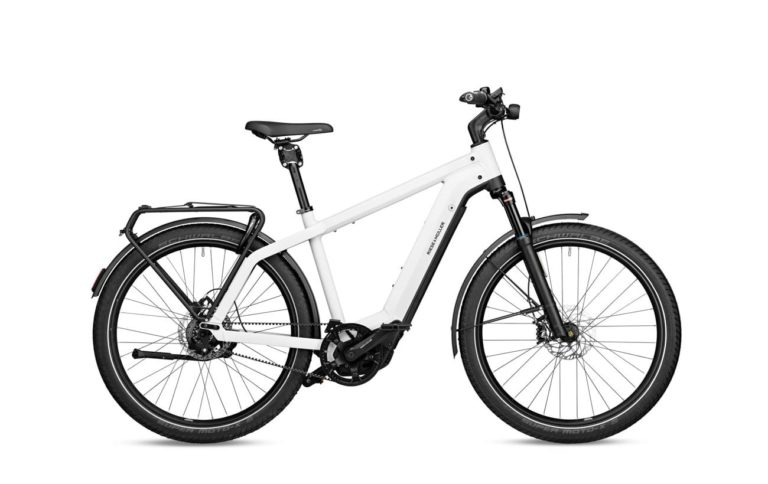 Riese & Muller Charger3 GT Rohloff Ceramic White for sale - Propel eBikes