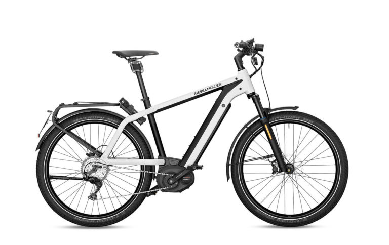 Riese & Muller Charger GT Touring HS Pearl White for sale - Propel Electric Bikes