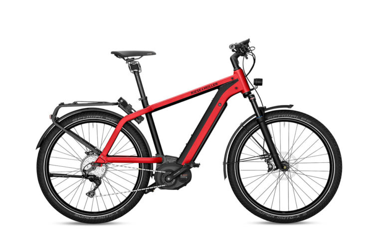 Riese & Muller Charger GT Touring Electric Red Metallic - Propel Electric Bikes