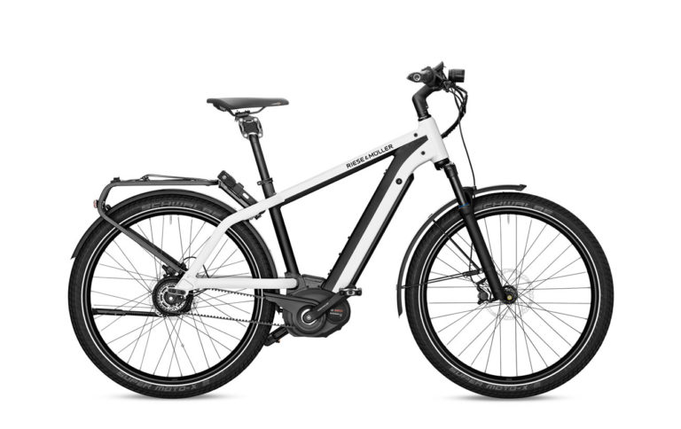 Riese & Muller Charger GT Vario Pearl White for sale - Propel eBikes