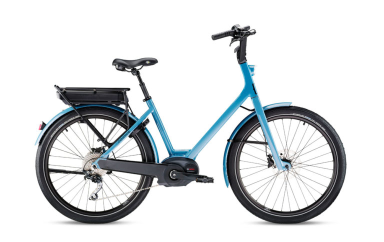 Moustache Lundi 26.3 Grey Blue for sale - Propel Electric Bikes