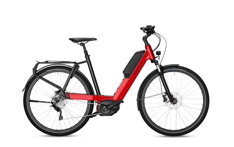 Riese & Muller Nevo touring fire red