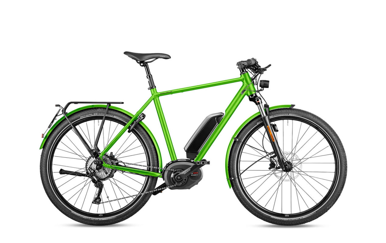 Riese & Muller Roadster GT touring HS electric green metallic