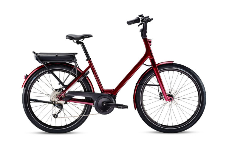 Moustache Lundi 26.1 Burgundy for sale - Propel eBikes