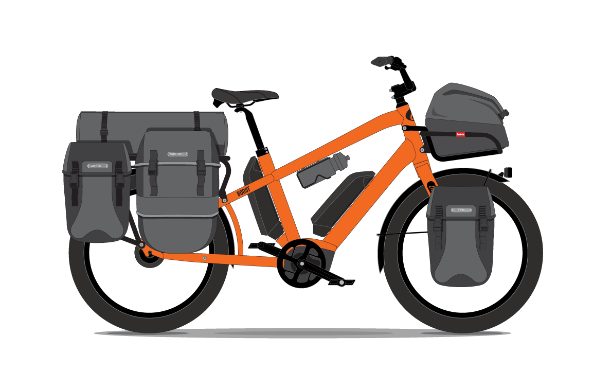 The adventure bike - Tour the world - Propel Electric Bikes