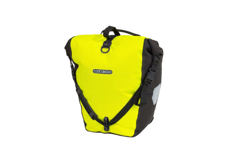 Ortlieb Backroller High Vis Bag Yellow - Propel Electric Bikes