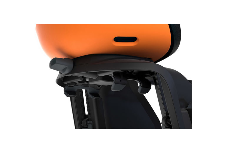 Thule Yepp Nexxt Maxi Orange Lock System - Propel Electric Bikes