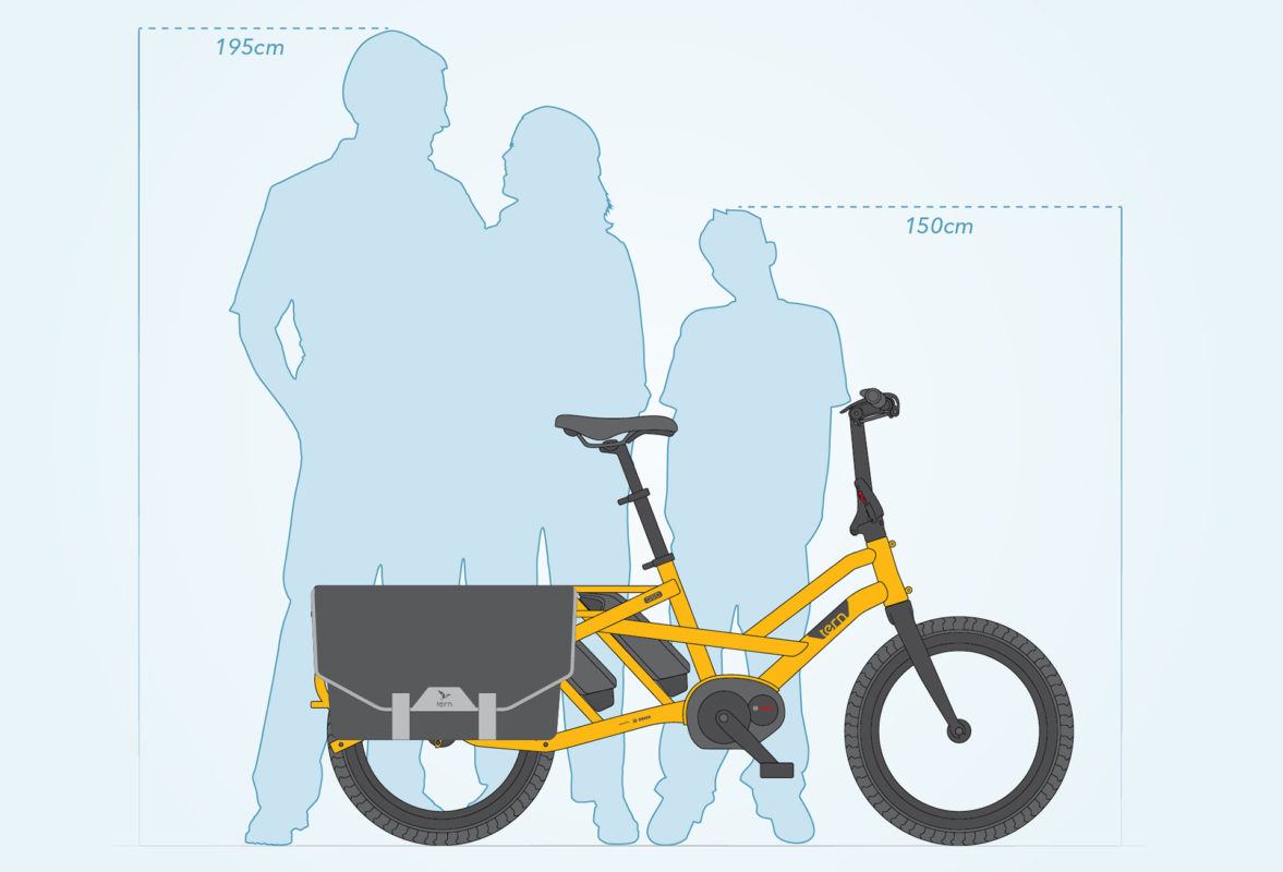 Tern Bicycle GSD G1 Fitsthefamily - Propel Electric Bikes