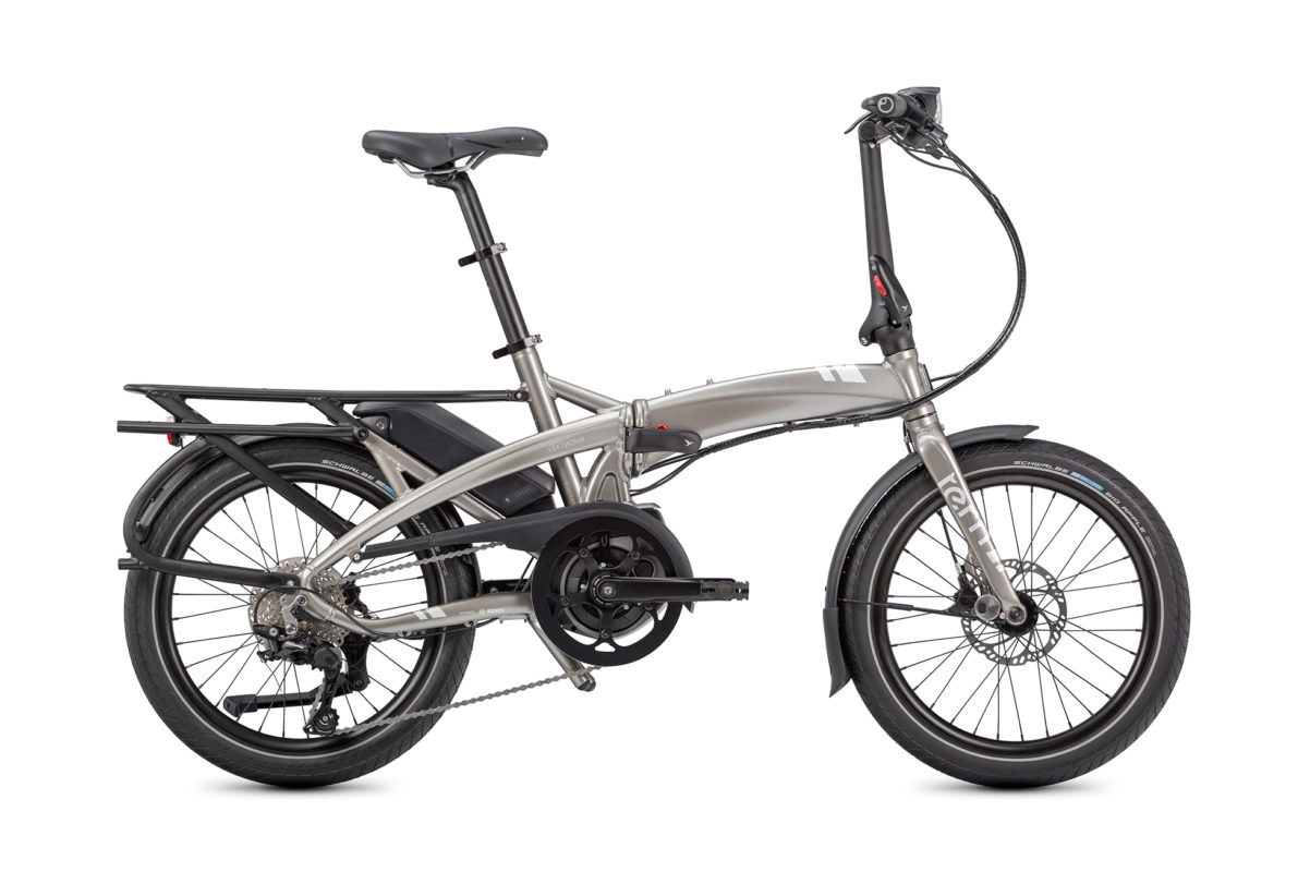 Tern Vektron S10 G2 Unfold LR Silver for sale - Propel eBikes