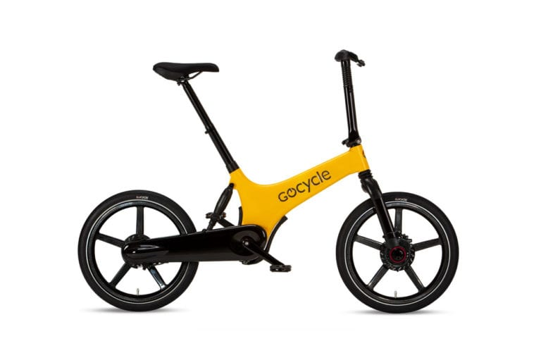 Shop Gocycle G3C Yellow Folding E-bike - Propel Electric Bikes