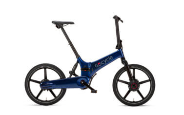 Gocycle GX Blue Fast Folding e-Bike Launched - Propel E-Bikes