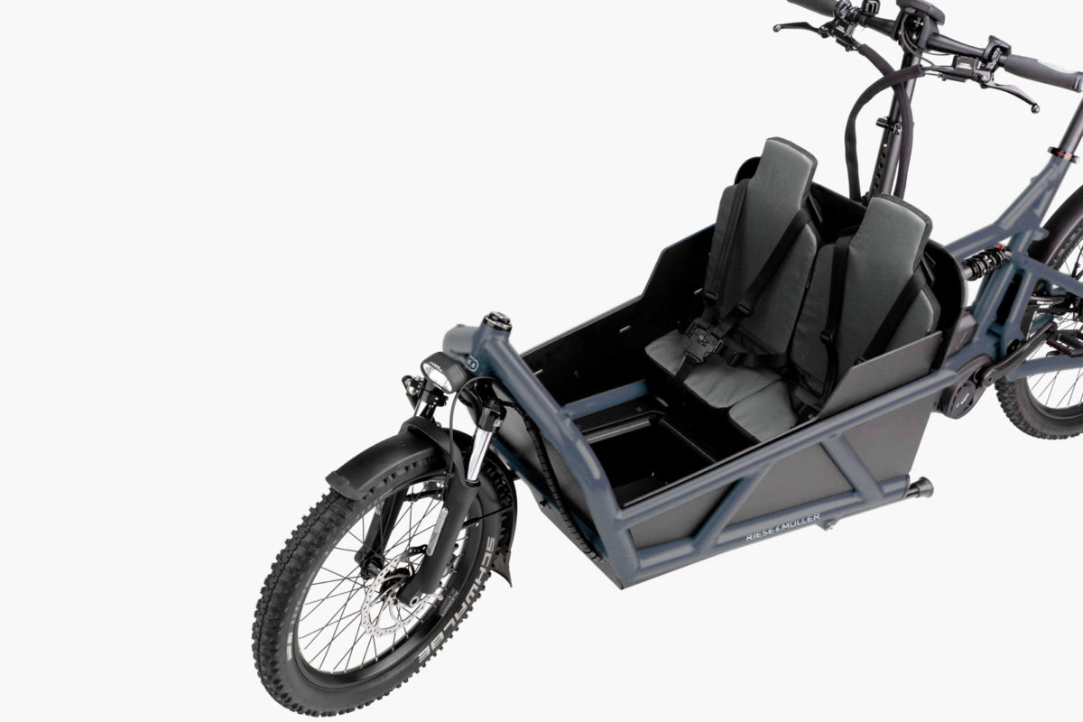 Riese & Muller Load 60 Safe Child Transport - Propel Electric Bikes